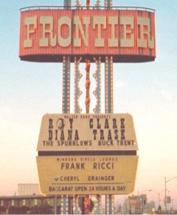 Frank Ricci at the Frontier, Las Vegas